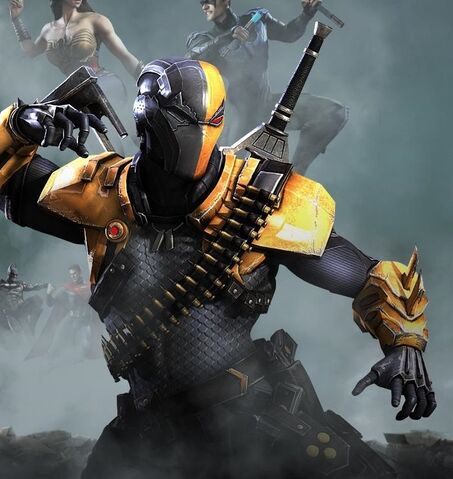 Image - Deathstroke Render.jpg - Injustice:Gods Among Us Wiki