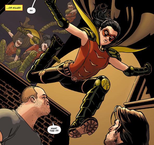 wayne helena earth robin dc comics marvel
