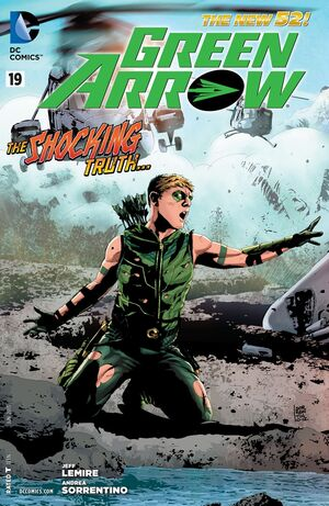 Cover for Green Arrow #19 (2013)