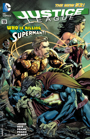 Cover for Justice League #19 (2013)