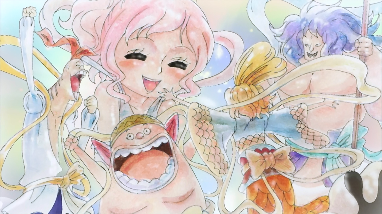 Shirahoshi The One Piece Wiki Manga Anime Pirates