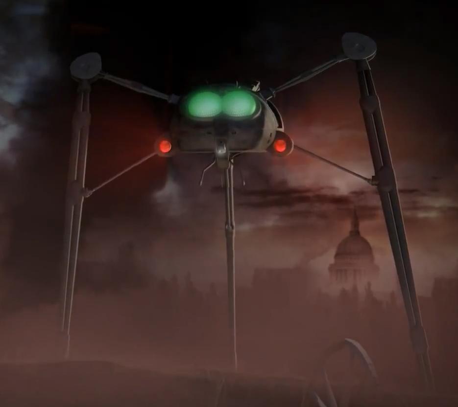 Fighting-machine - War of the Worlds