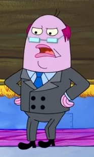 Bank Manager Encyclopedia Spongebobia The Spongebob