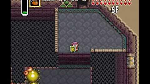 how to get to misery mire link to the past