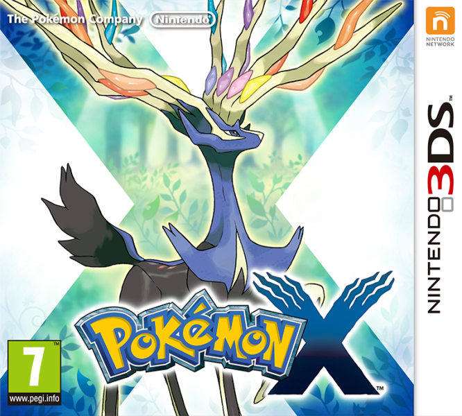 Pokémon X [EUR] [Multi7 Español] [N3DS] [MG]