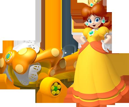 Mario Kart Wii Daisy_MK7