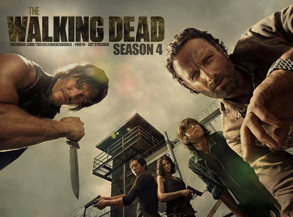 MI PEQUEÑO MUNDO: THE WALKING DEAD (Reseña de la cuarta temporada)