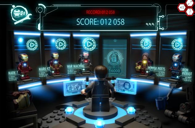 lego iron man 3 games