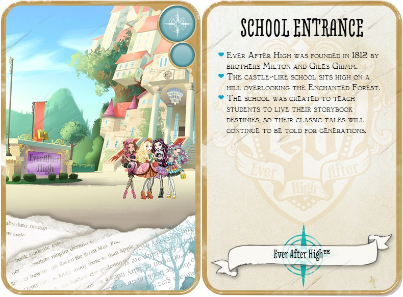 how to write a good character biography of ever after high