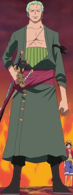 Tripulação Mugiwara 250px-Roronoa_Zoro_Anime_Post_Timeskip_Infobox