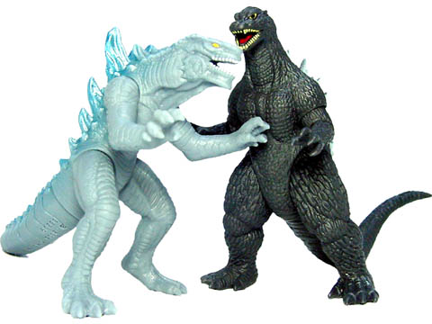Godzilla Final Wars Mini Battle Set 5 Godzilla Vs