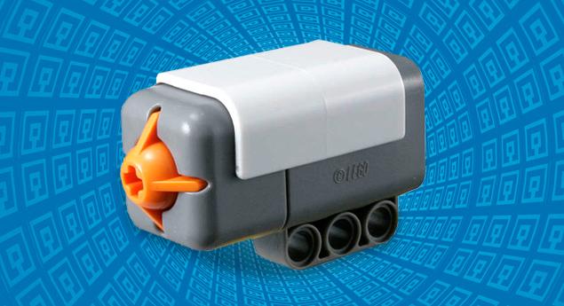 Тактильный датчик реагирует на нажатие и отпускание кнопки, в том числе многократное.  Даёт роботу чувство касания.