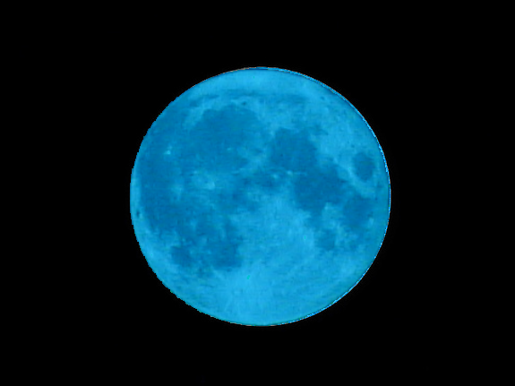 ... blue moon. Will people get to see a blue-colored moon at the end of