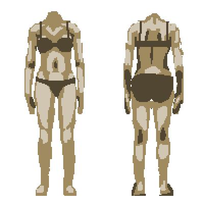 Paper Doll Body