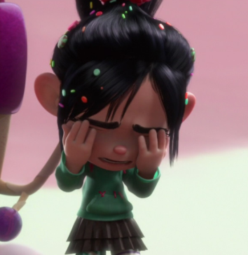 Image - Vanellope crying.png - Heroes Wiki