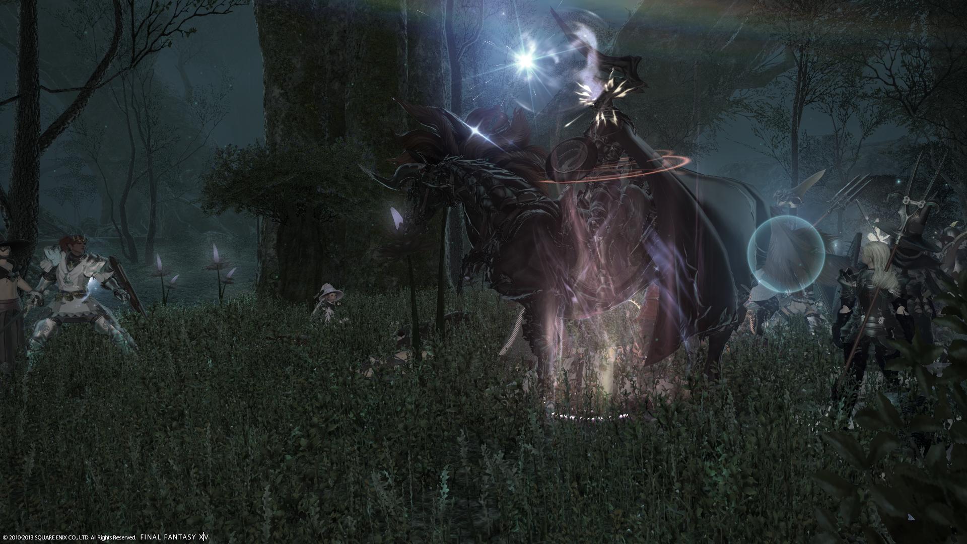 FFXIV Odin FATEFinal Fantasy 14 Odin