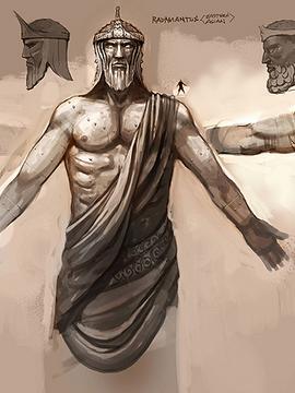 Caballero Sapuri, Juez del Infiero- Minos de Grifo (ss) 270px-Minos_arte