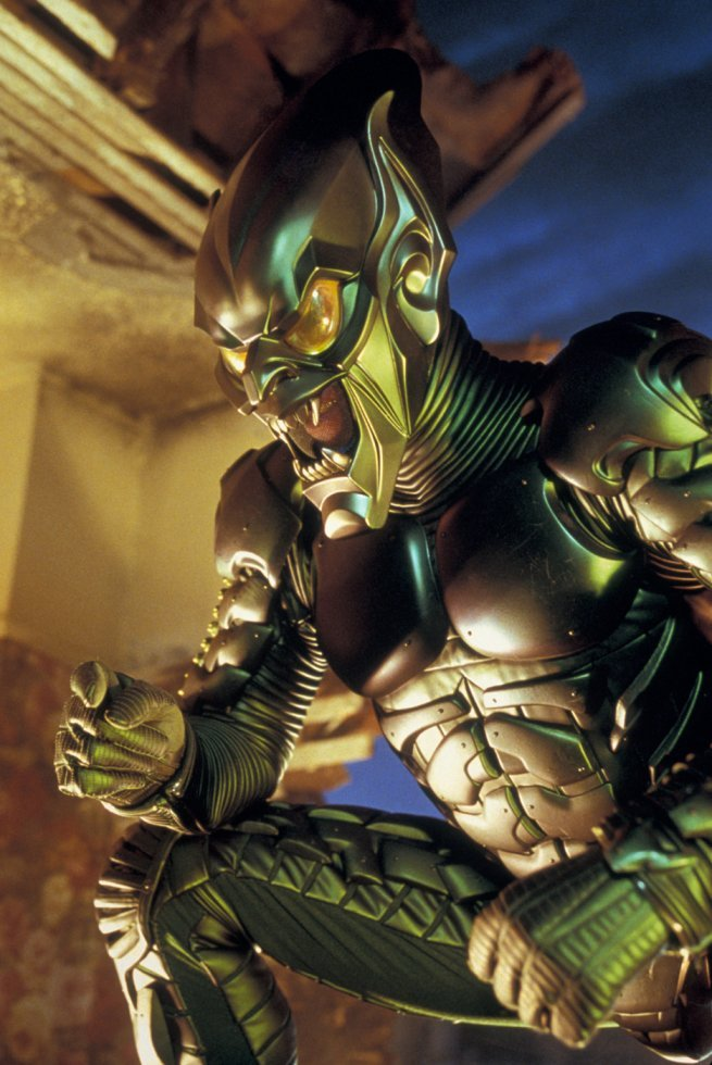 Green Goblin Spiderman