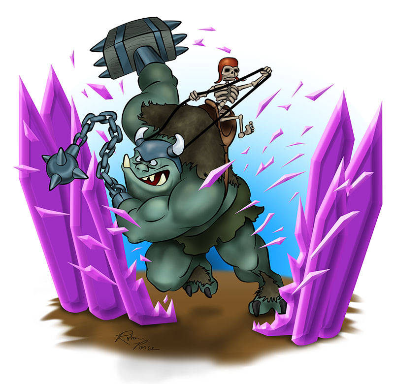 Clash of Clans Wallpaper Troops Yeti Clash of Clans Troops