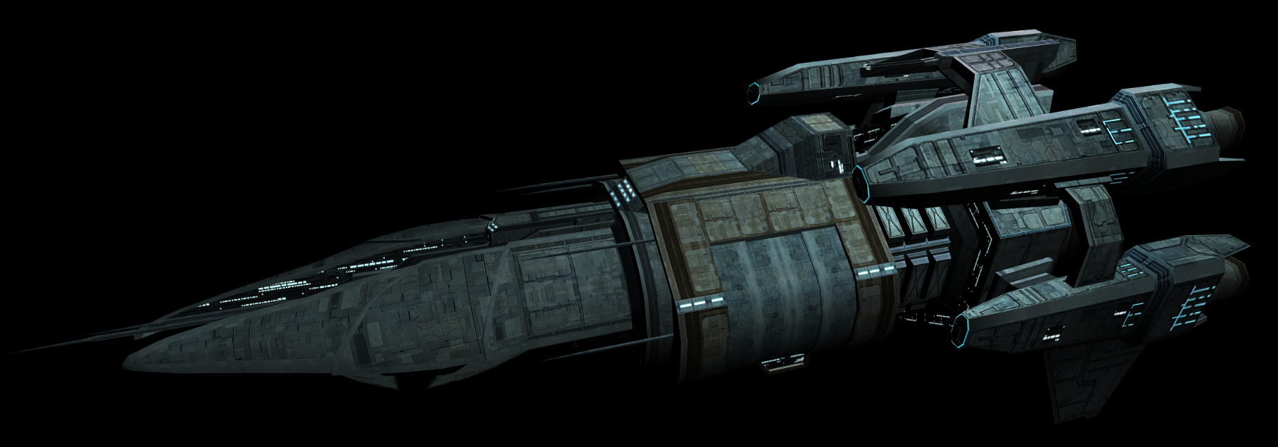 The United(Or, Universal) Federation of Chaakas. Griffin-class_frigate