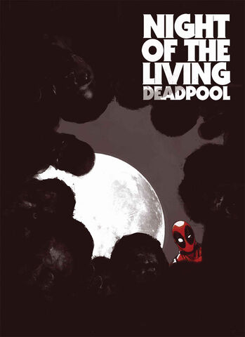 Night of the Living Deadpool comic book