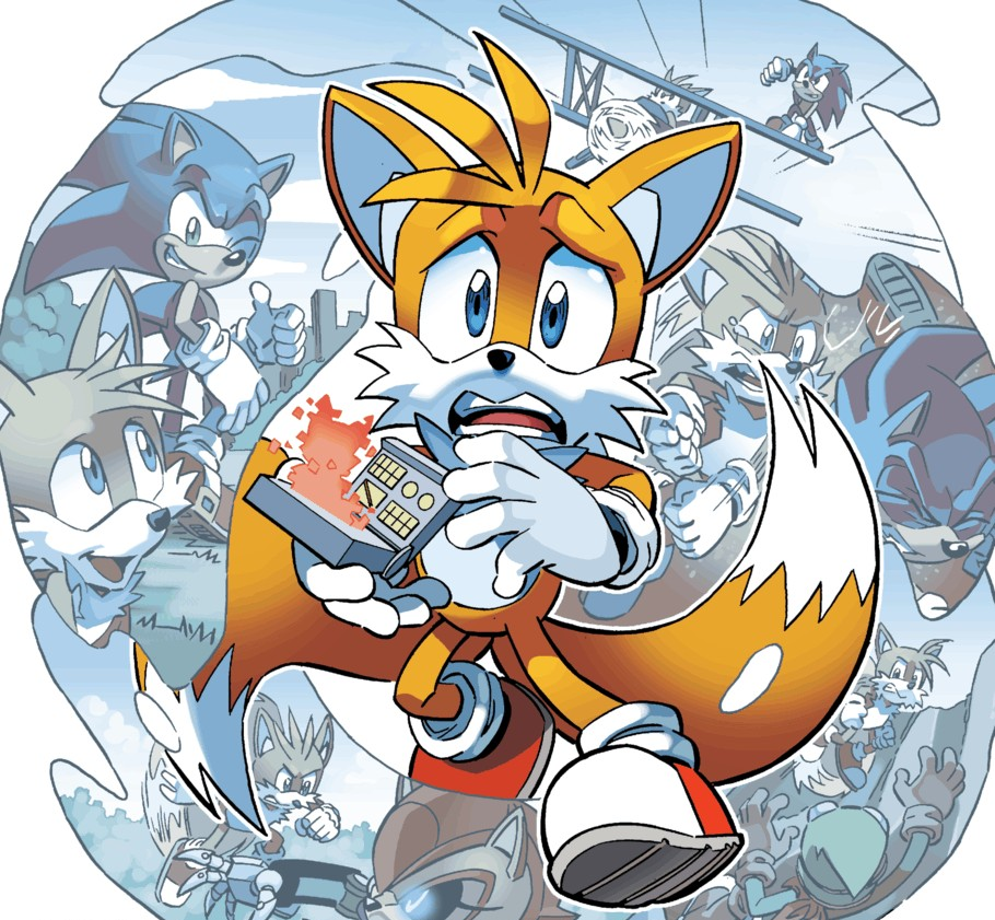 """Miles Tails Prower: Miles """"Tails"""" Prower (Archie)"""