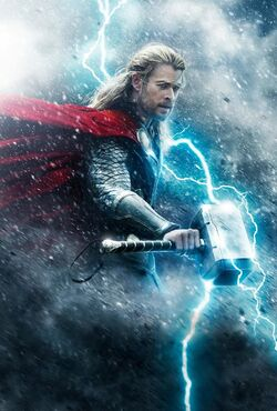 Thor Odinson (Earth-199999) from Thor The Dark World poster 001
