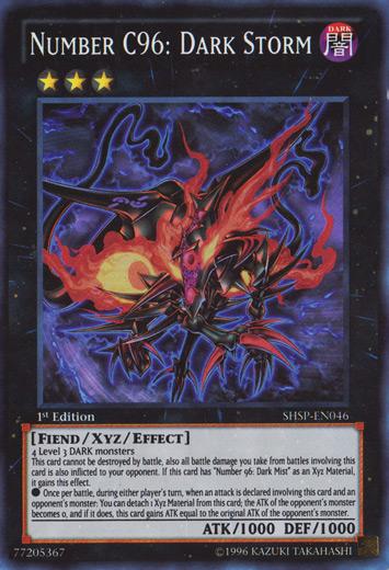 Yugioh Zexal Number C105 Lista Xyz Chaos - Nume...