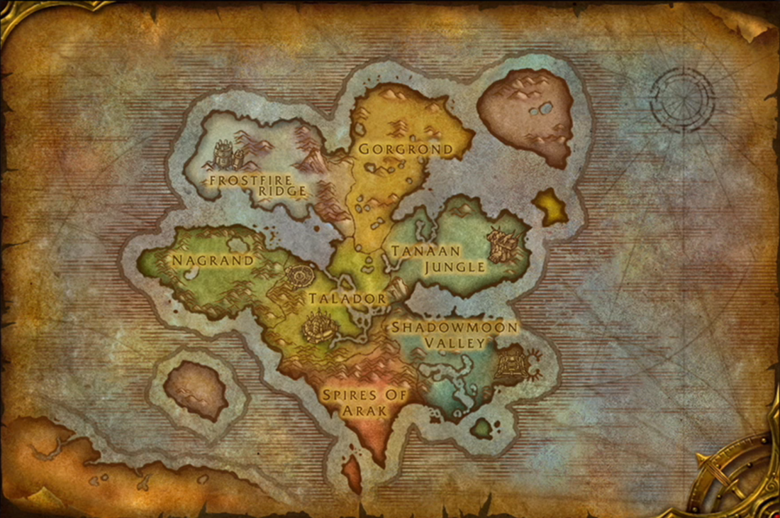 Wow Wod Map wod map preview request   World of Warcraft Forums
