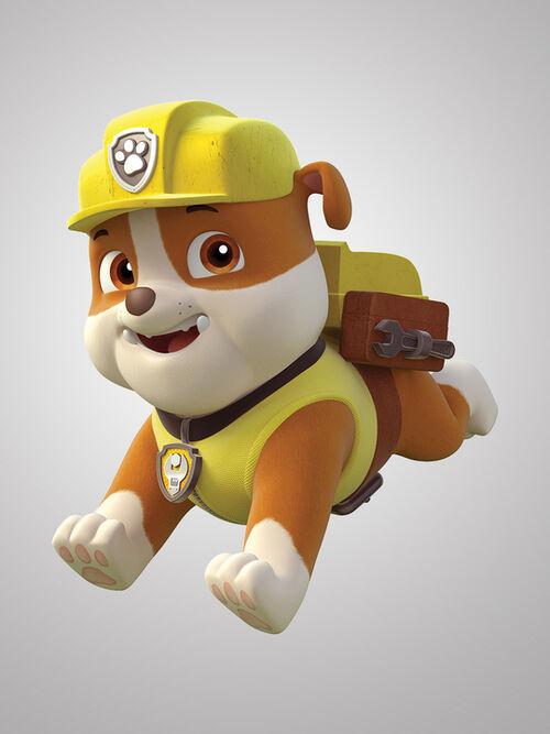 rubble   paw patrol wiki
