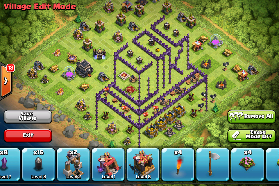 go to dancingbear and his state of the art clash of clans wiki tower