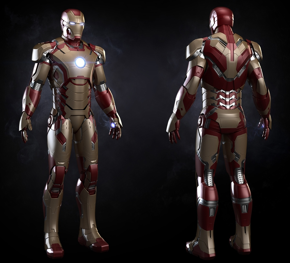 Iron Man 3 Mark 48 Iro...
