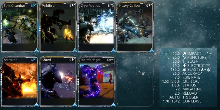 how to change the elemental damage warframe