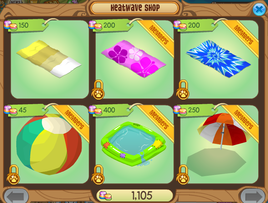 Heatwave Party Animal Jam Wiki