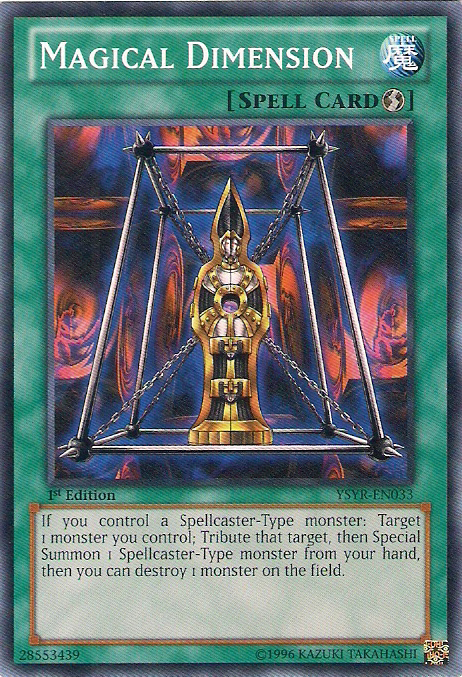 Magical Dimension - Yu-Gi-Oh! - It's time to Duel!