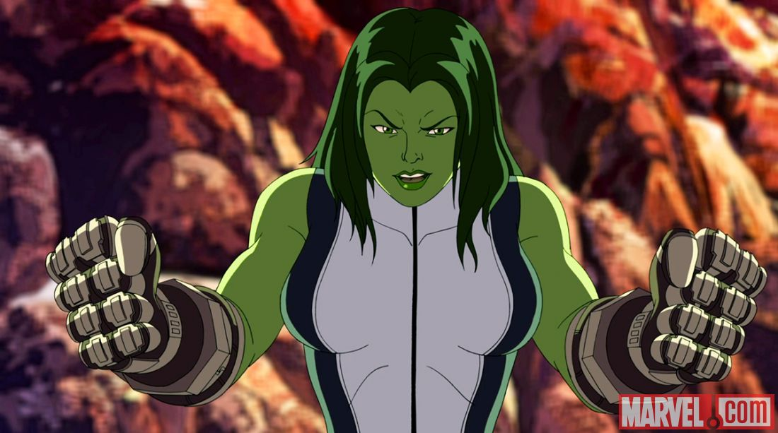She-Hulk - Hulk and the Agents of S.M.A.S.H. Wiki