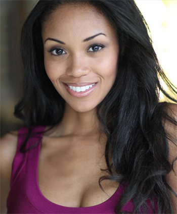 mishael morgan as hilary curtis the young and the restless portrayed ...