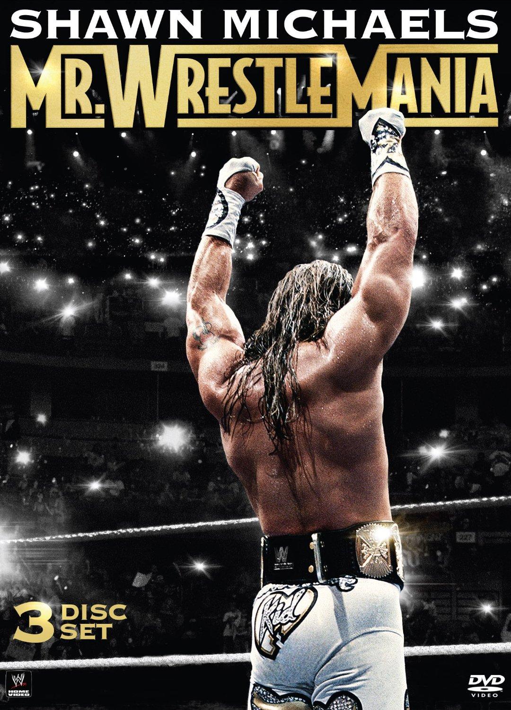 Shawn Michaels  Mr  WrestleMania  DVD Shawn Michaels Wrestlemania 12