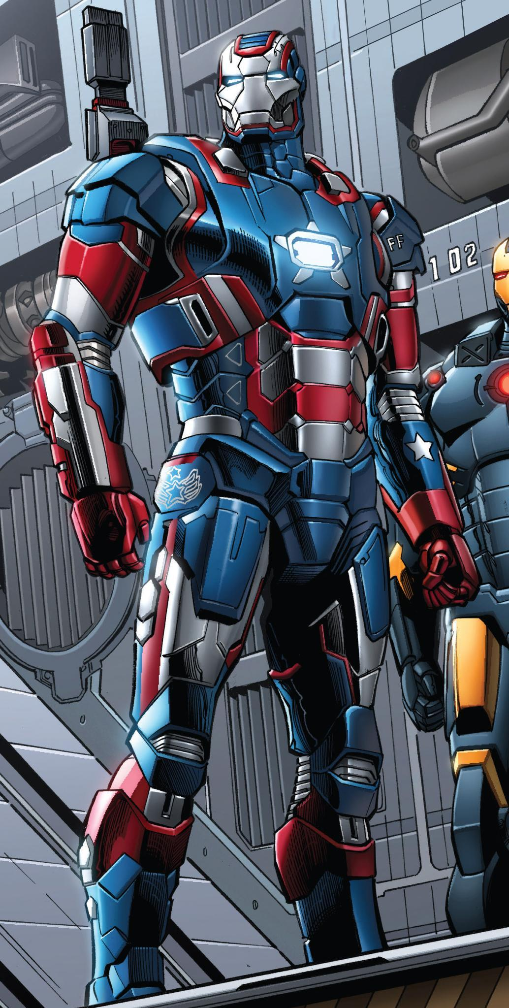 Iron Patriot Armor - M...
