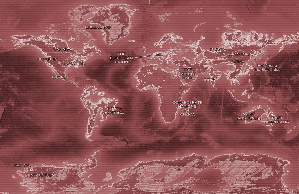 Flooded Global Map From Marie Lus Legend Novel Series Imaginarymaps