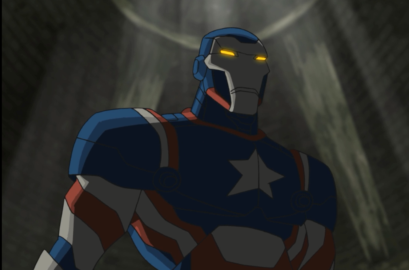 Iron Patriot Armor - Ultimate Spider-Man Animated Series Wiki