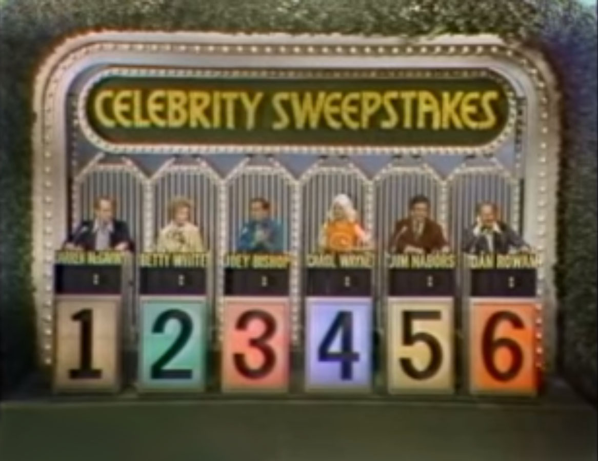 sweepstakes gaming celebrity sweepstakes game shows wiki 3005